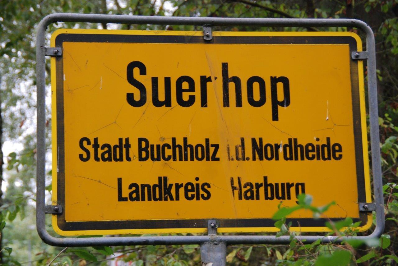 Ortsschild Suerhop